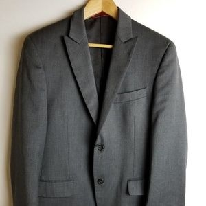 Alfani Exclusively For Macy's Men's 2 Button Wool